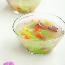 丝瓜鸭血汤的做法