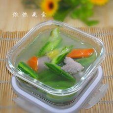丝瓜肉片汤的做法