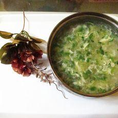 香菜土豆丝汤