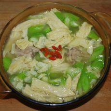 丝瓜腐竹汤的做法