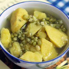 清凉地瓜汤