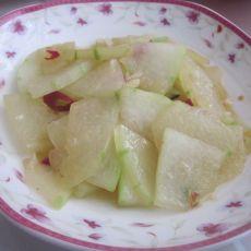 清炒冬瓜的做法