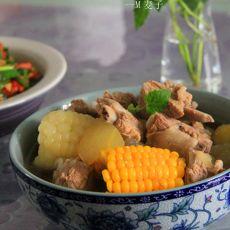 双色玉米排骨冬瓜汤
