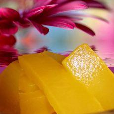 橙汁蜜瓜条