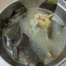 海带绿豆骨头汤