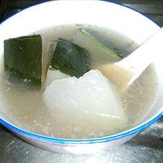 清补凉猪骨冬瓜汤