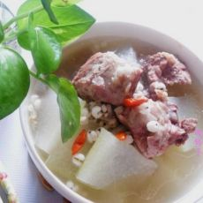 排骨冬瓜薏仁汤的做法