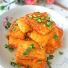 鸡蛋茄汁豆腐