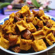 豆腐烧猪肉