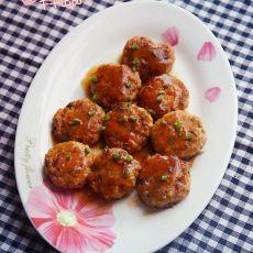 豆腐香菇鲜肉饼
