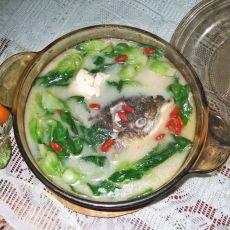 浓香鱼头汤的做法