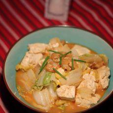 豆腐炖白菜
