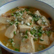 虾皮炖豆腐-首发的做法