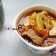 【原创】泡菜豆腐汤