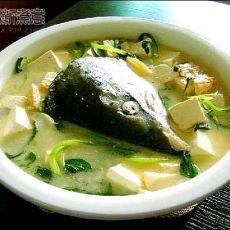 美味三文鱼头汤