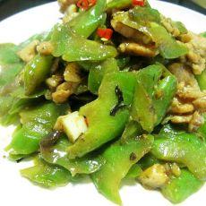 蒜蓉豆豉炒苦瓜的做法