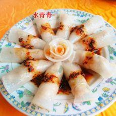 水晶萝卜卷