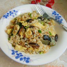 扁豆蛋炒饭