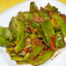 肉沫焖扁豆