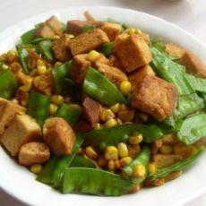 扁豆玉米烧豆腐