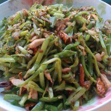扁豆炒肉丝
