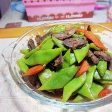 扁豆炒香肠