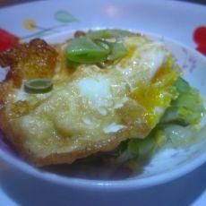 蚝油扁豆荷包蛋