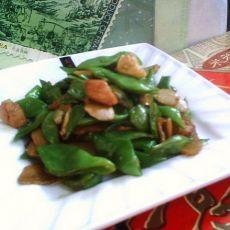 仔姜煸扁豆