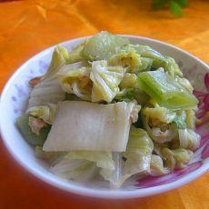 白菜扁豆合欢菜