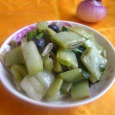 蚝油白菜扁豆