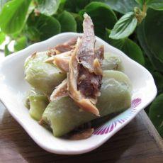 扁豆炒鸡肉