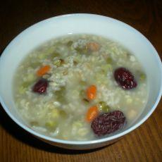 绿豆红枣燕麦粥