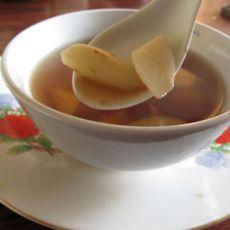 灵芝白山药汤的做法