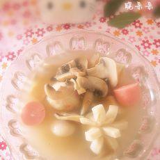 蘑菇鱼丸汤
