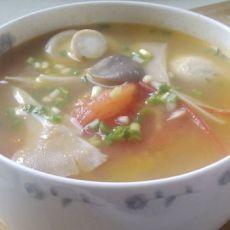 番茄杂菇汤