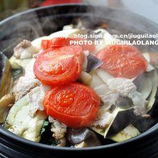 塔吉锅杂蔬