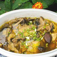 鲜菇蒸土鸡