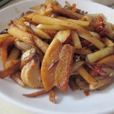 炒蘑菇土豆条