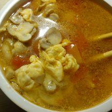 西红柿蘑菇蛋汤