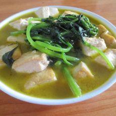长寿豆腐汤