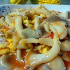 蘑菇炒鸡蛋