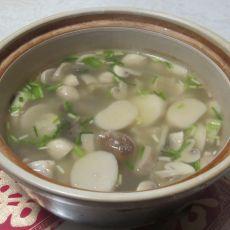 菌菇肉排汤