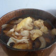 蘑菇西红柿鸡蛋汤
