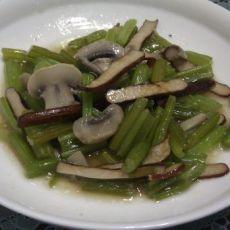 蘑菇香干芹菜