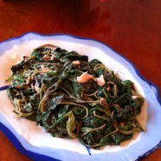 芝麻酱拌苋菜