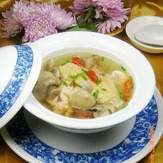 草鸡蘑菇汤