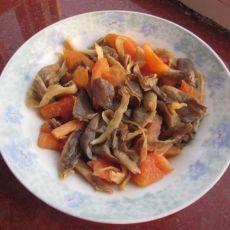 番茄炒蘑菇