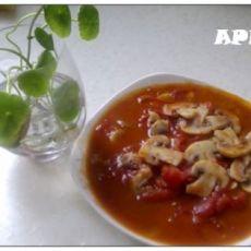 蘑菇炒番茄