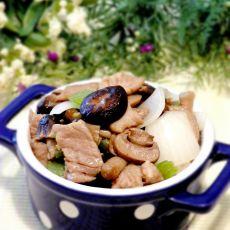 三菇小炒肉