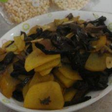 蘑菇土豆片